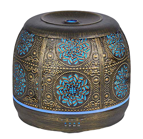 Bronze Art Aromatherapy Essential Oil Diffuser