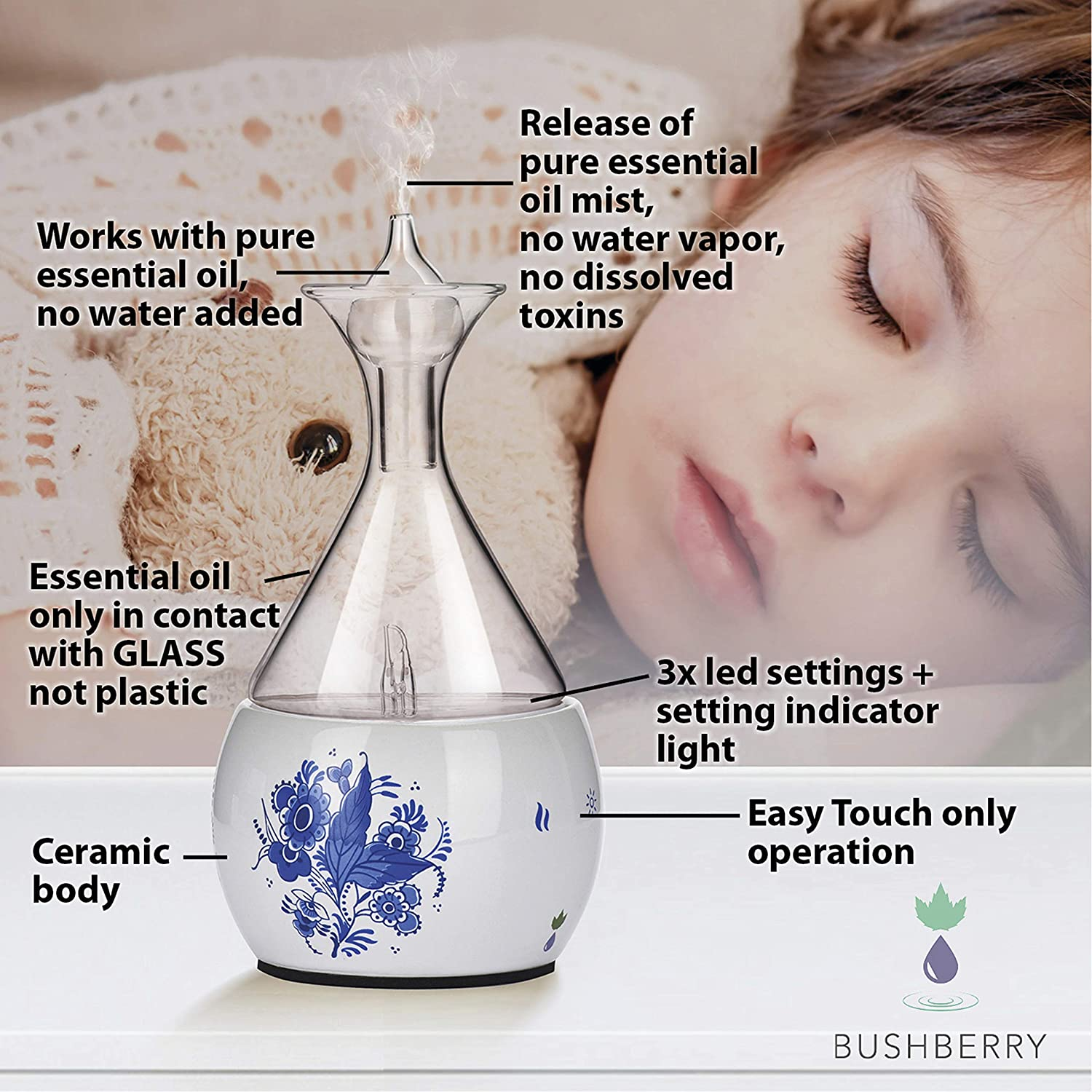 Bushberry-Mist Nebulizing Diffuser ratings