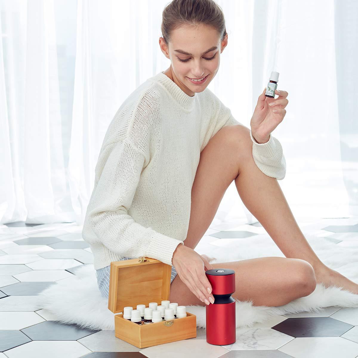 Organic Aromas Mobile Mini 2 Nebulizing Diffuser testimonials