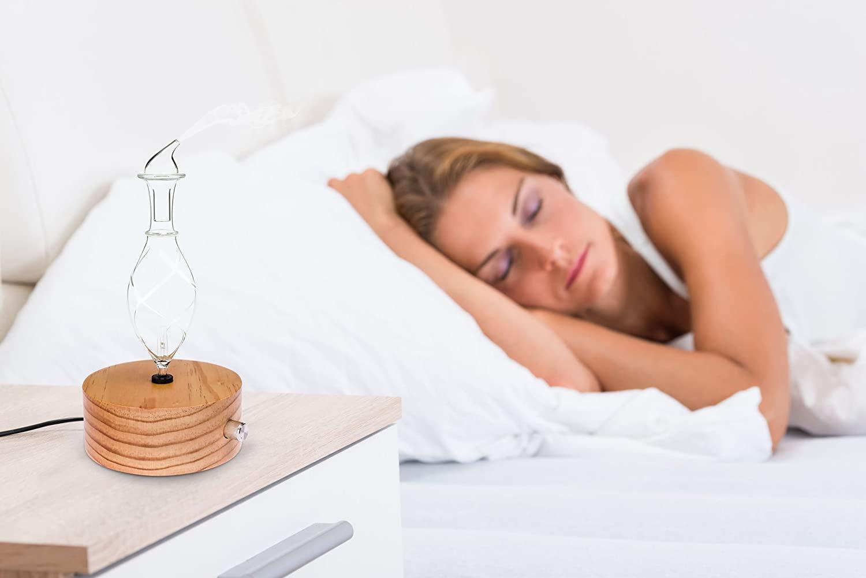 aromis wood glass nebulizing diffuser