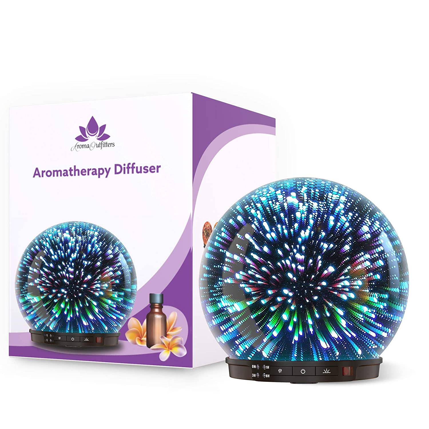 galaxy space glass diffuser