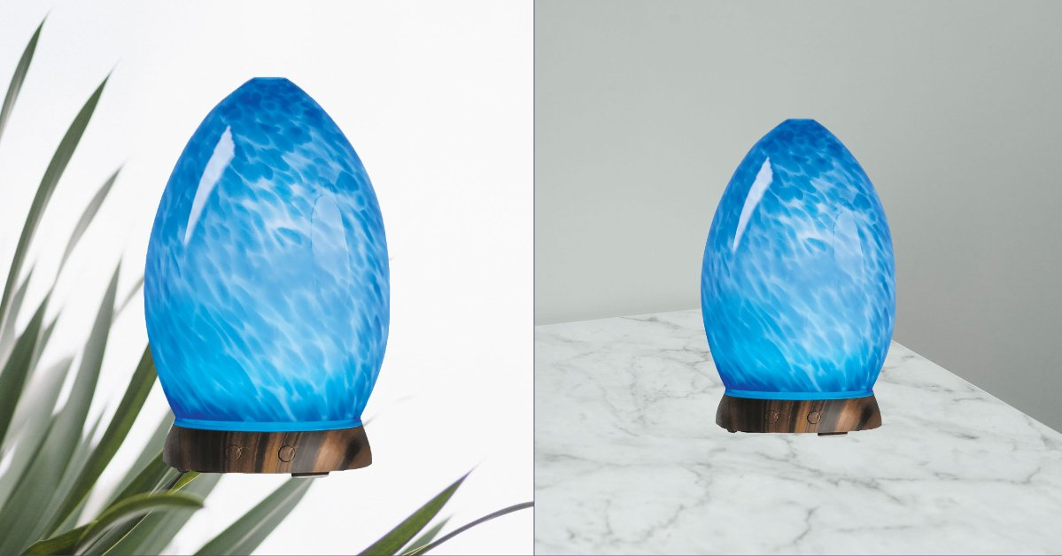 lux blue marble diffuser reviews